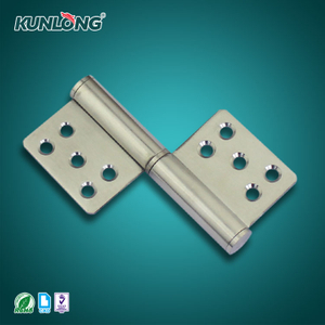 SK2-8057 KUNLONG Stainless Steel Detachable Flag Type Door Hinges