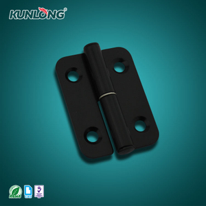 SK2-043 KUNLONG Black Powder Steel Detachable Door Hinge
