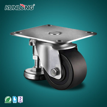 SK6-Z6597P KUNLONG Heavy Duty Adjustable Pedestal Caster Wheel