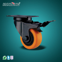 SK6-Z75108P KUNLONG Heavy Duty Swivel Caster Wheel
