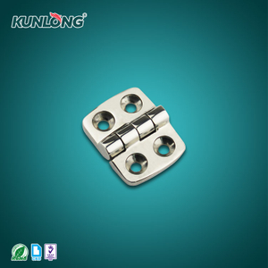 SK2-8028-2 KUNLONG Supplier Stainless Steel 316 Exposed Hinges for Marine