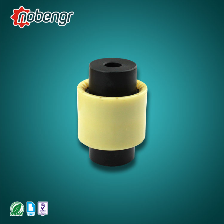 SG7-TGL nobengr TGL Nylon Hydraulic Pump Gear Coupling with Sleeve